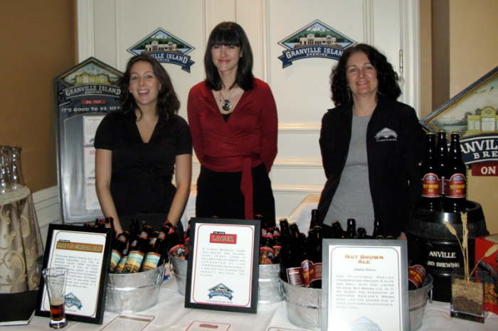 Granville Island Brewing sponsored the Culinary Tourism Society BC Conference.