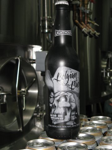 Lighthouse Belgian Black Ale bottle