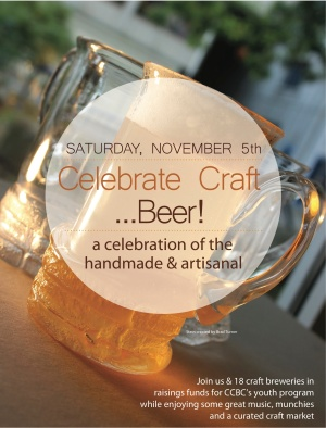 Celebrate Craft... Beer! event poster.